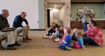 preschool class at Central Christian Church